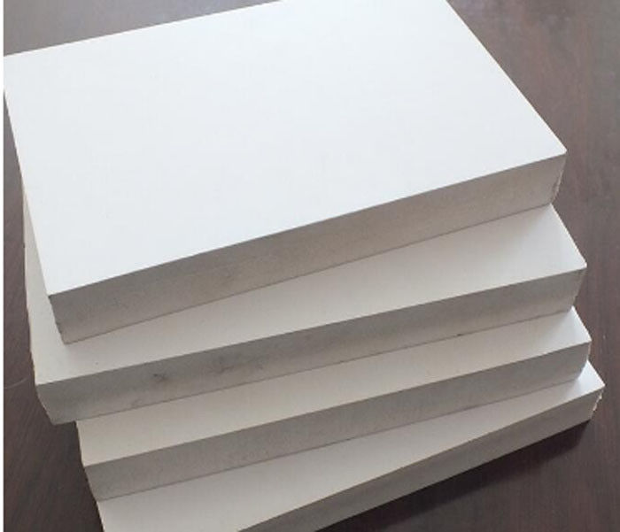 3mm Insulation Expanded PVC Foam Board Weatherproof  Lead Free Aging Prevention