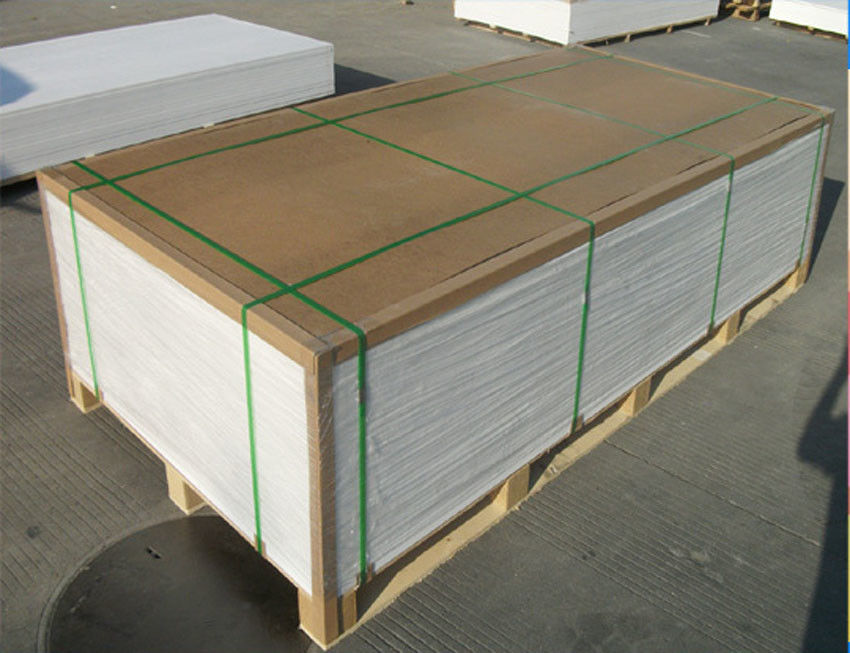 Energy Saving Rigid PVC Sheet Scratch Resistant Smooth Surface For Furniture SGS