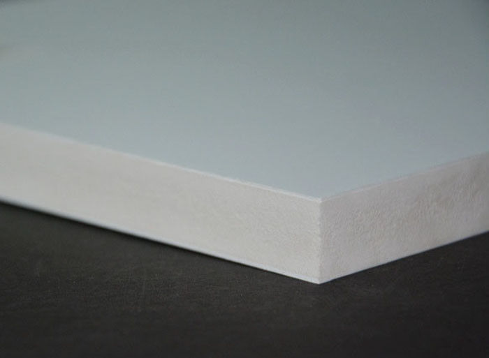 White Sintra Pvc Forex Sheet High Density 19mm For