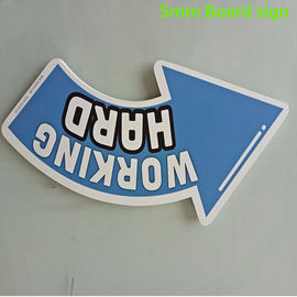 China Colorful 5mm PVC Sign Board Sound - Insulated UV Resistance Digital Printing distributor