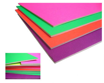 China Waterproof 5mm High Density Foam Board , Colored Interior Ceiling Foam Board distributor