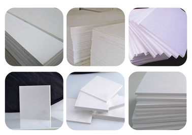 China 4x8 15mm Expanded Foam Sheet , Cabinets Use White Foam Board Customized distributor