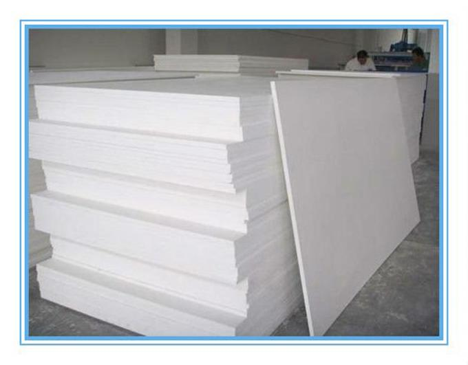 Celuka Large 4 X 8 PVC Plastic Sheet White Smooth Surface For Printing