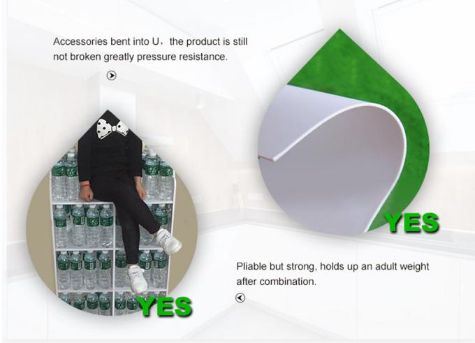 Anti Water Bendable PVC Sheet High Density Digital Printing Customized SGS