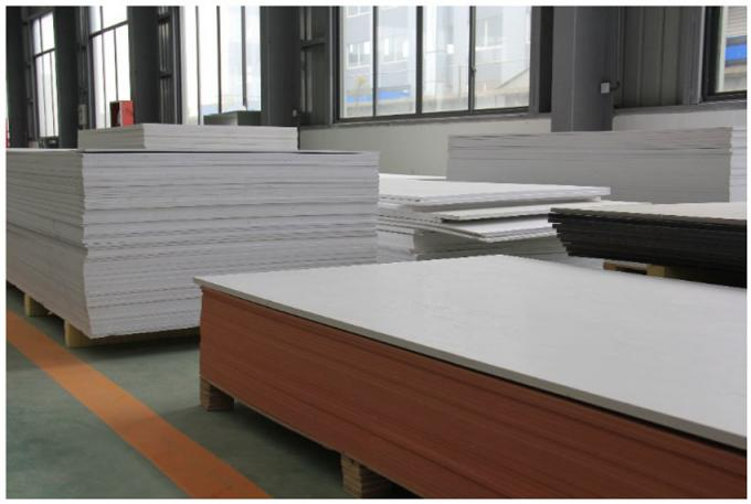 Wall High Density PVC Board Sheets Anti - Aging For Outdoor Decoration