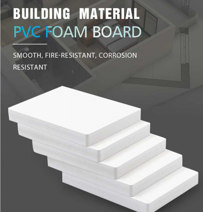 8mm pvc foam board for design and display